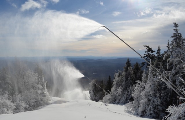 Vermont's Snowmaking Saves The Season