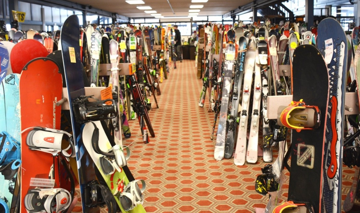 Annual Ski Swap and Sale at Okemo features new and used gear. (Okemo)