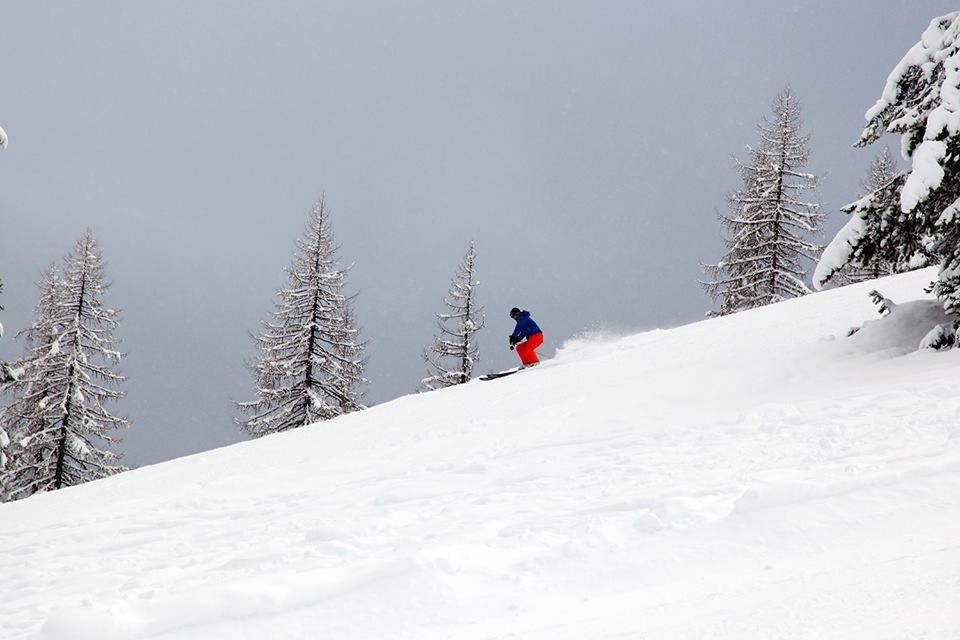Hittin' the ridge for fresh pow.' (Lookout Pass/Facebook)