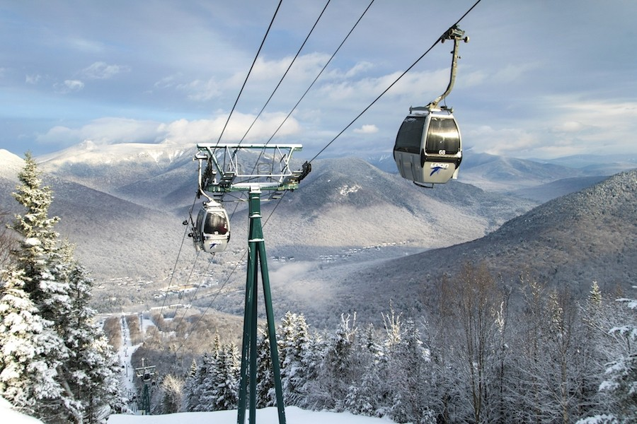 White Mountain views at Loon. (Loon)
