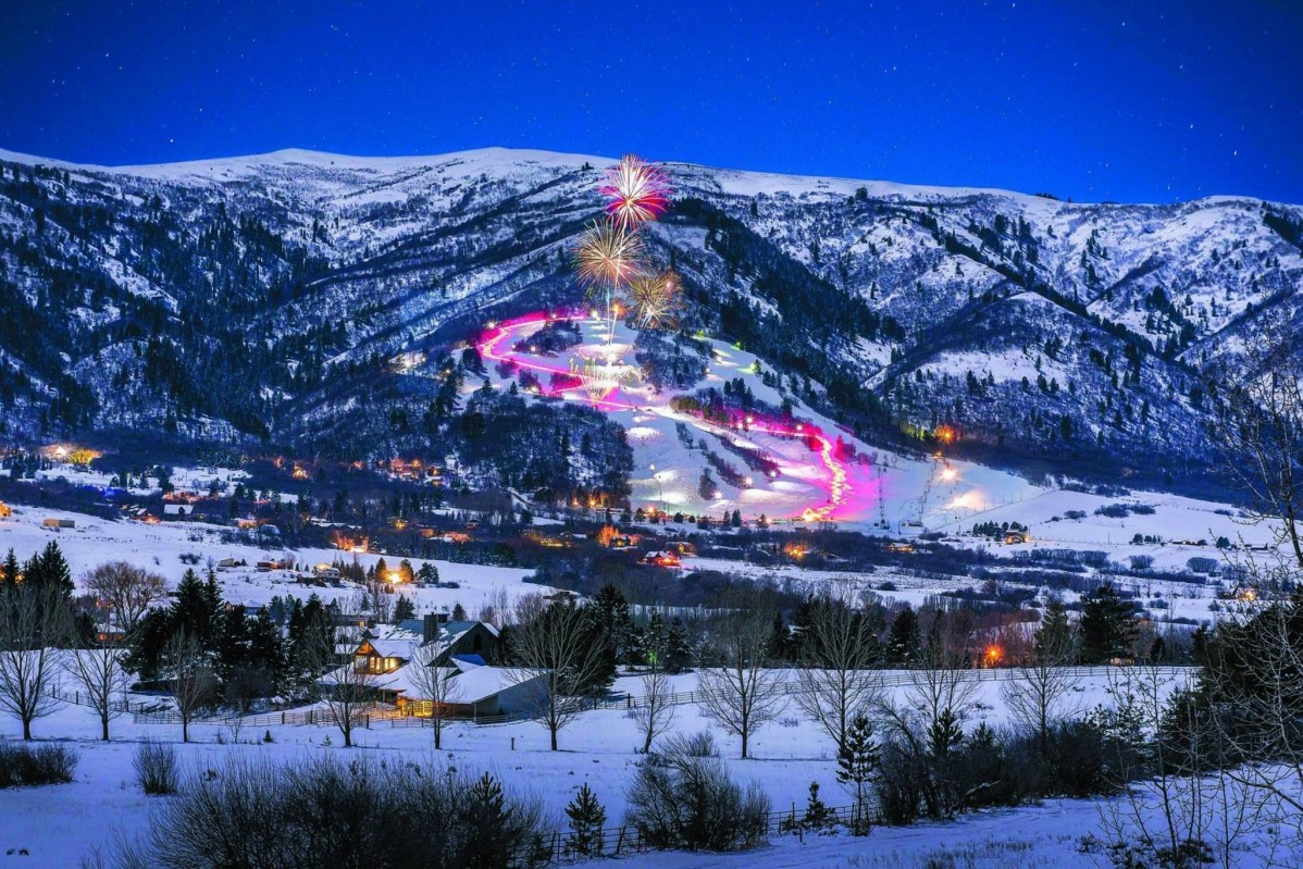 Nordic Valley known for full-mountain night skiing. (Nordic Valley Ski Resort)