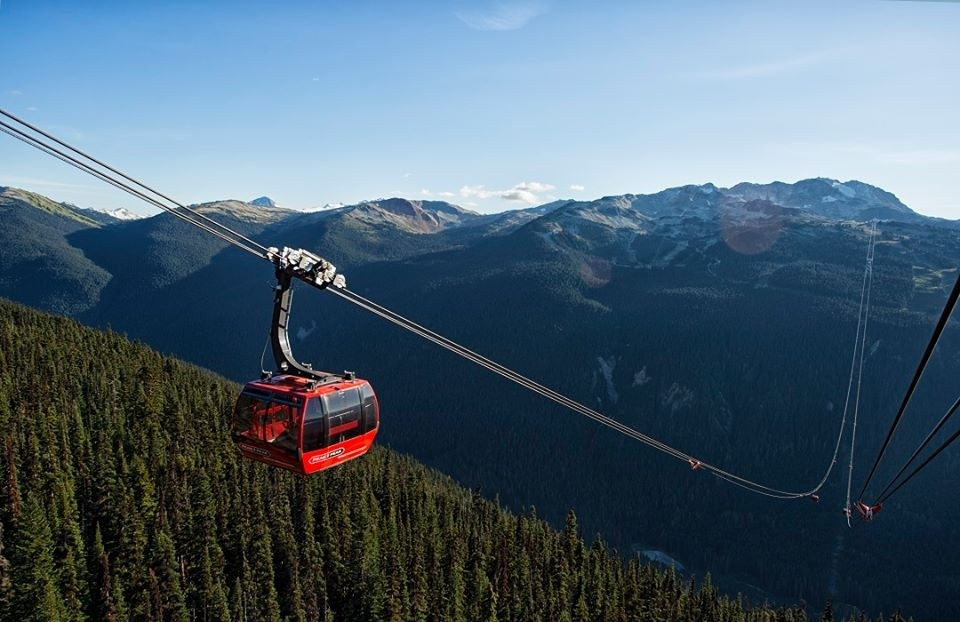 You want views? Take Whistler tram. (Whistler-Blackcomb/Facebook)