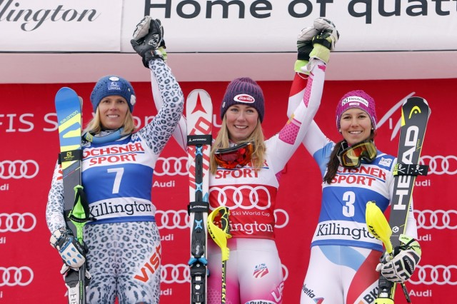 Shiffrin Rocks Slalom In Front Of Wild Killington Crowd
