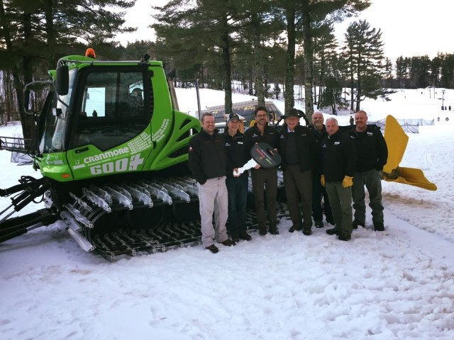 Cranmore Adds First In East Diesel Electric Groomer