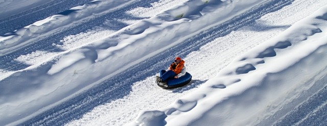 Winter Tubing Speeds Across The Nation