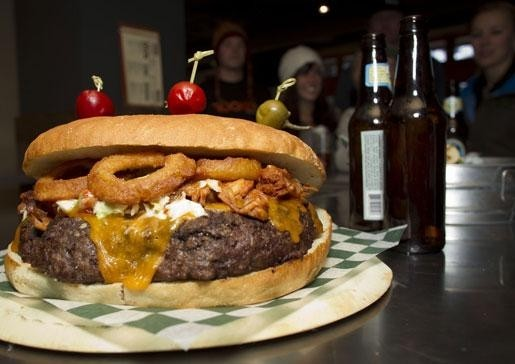 Chowin' Down On Best Burgers In Ski Towns