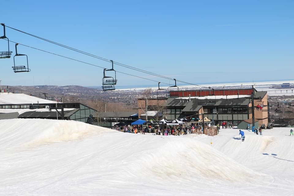 Spirit Mountain offers a big vertical for Midwest. (Spirit Mountain/Facebook)
