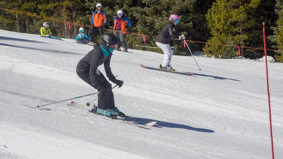 Eskimo Ski Club held weekly races at Winter Park. (Eskimo Ski Club/Facebook)