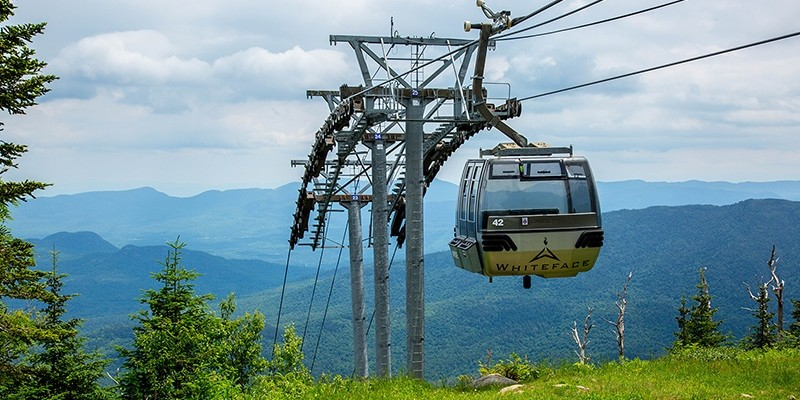 The Cloudsplitter Gondola is free with the Olympic Sites Passport. (Whiteface)