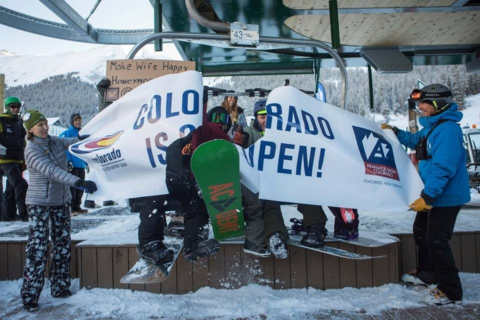 Arapahoe Basin takes honors for first to open seven days a week. (Arapahoe Basin/Facebook)