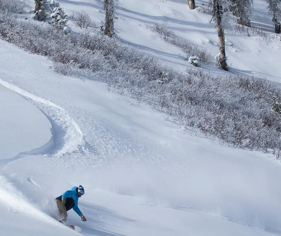Believe it or not, a powder turn in October. (Wolf Creek/Facebook)