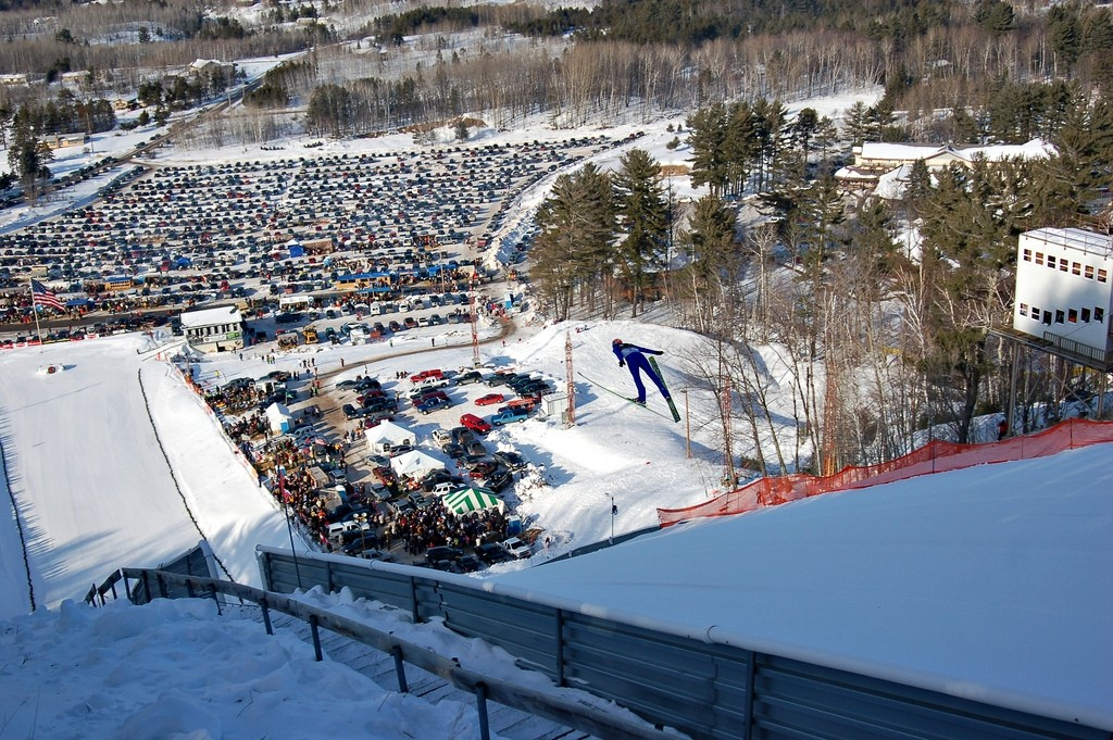 Pine Mountain Ski Jump hosts World Cup jumping events. (Pine Mountain/Facebook)