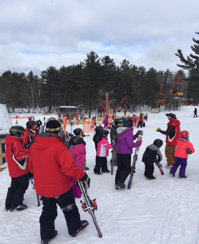 The ski area is popular with families.(Pine Mountain/Facebook)