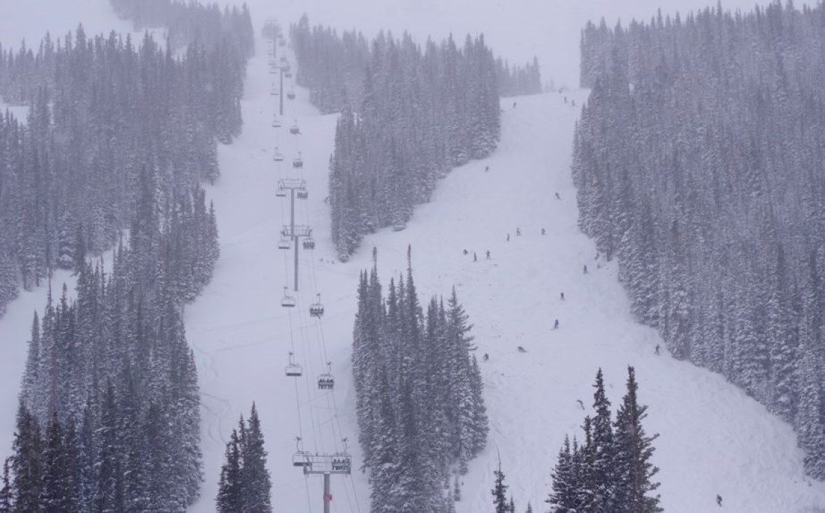 Loveland Ski Area in Colorado boasts the snowiest start to their season with more than 7 feet of snow pre-Thanksgiving. (Loveland)