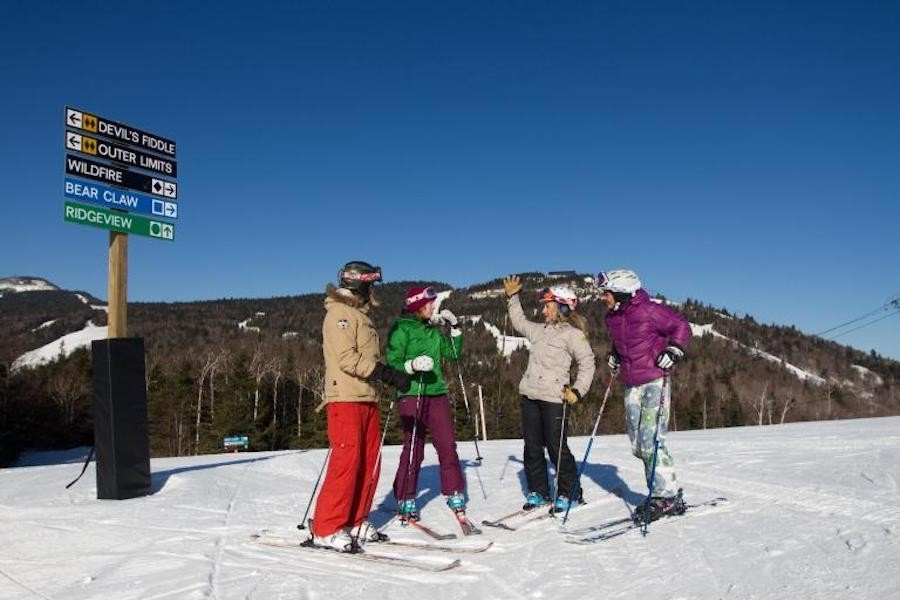 Learn from Accomplished skier Donna Weinbrecht at Killington. (Killington)