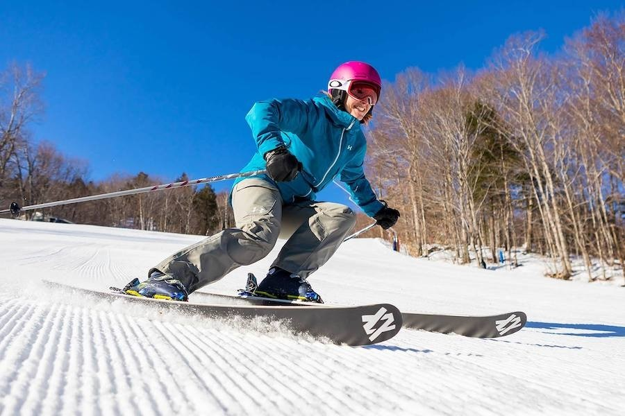 From groomers to steeps to bumps, tackle any terrain with the Loon Performance Camp. (Loon/Facebook)
