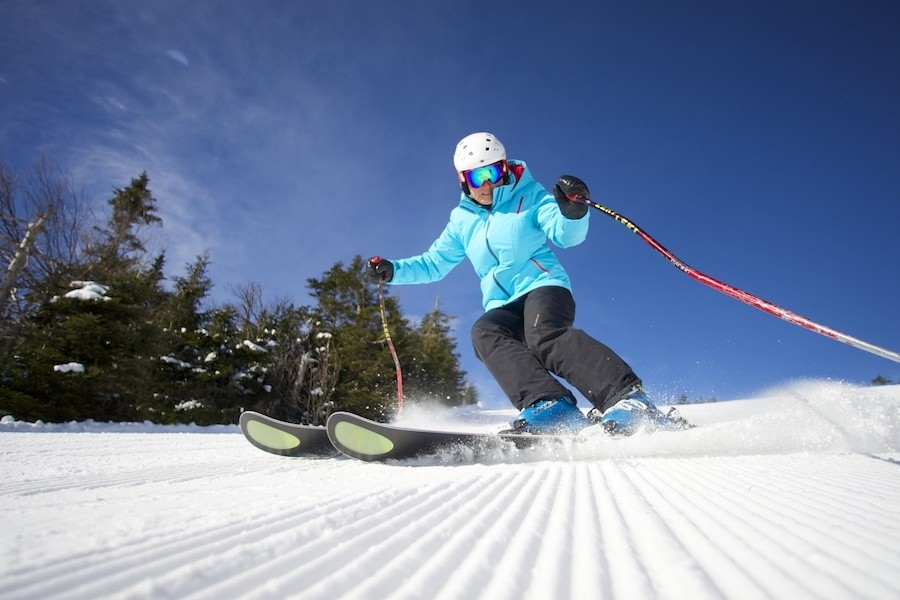 Boost confidence and gain skills at Okemo's Women's Alpine Adventures. (Okemo)