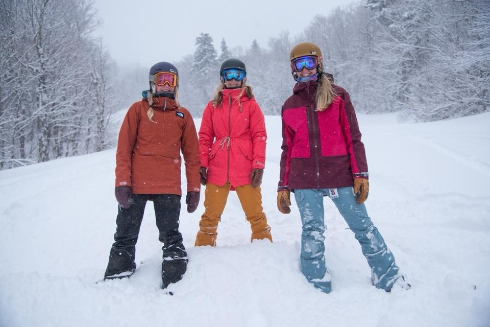 Learning to ski is always more fun with friends.(Stratton)