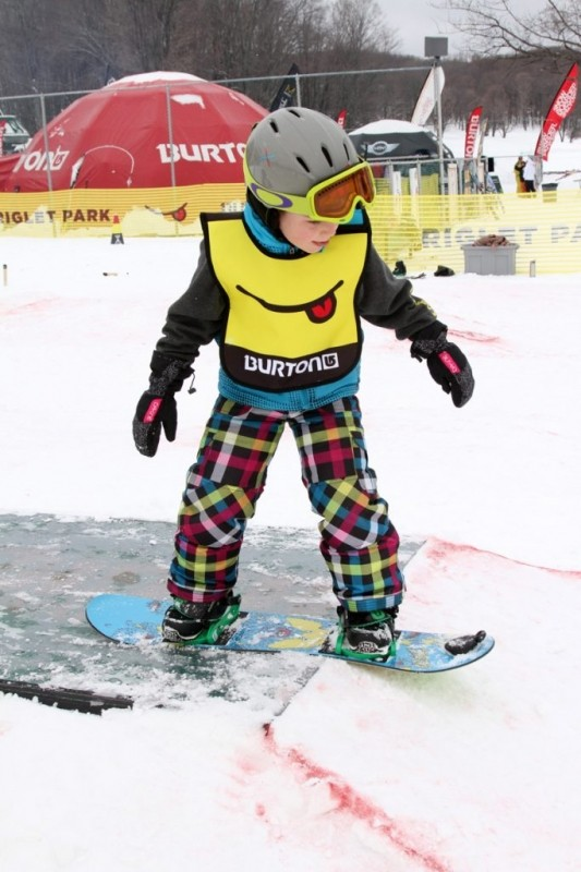 Learning to snowboard at Boyne Highlands. (Boyne Highlands/Facebook)