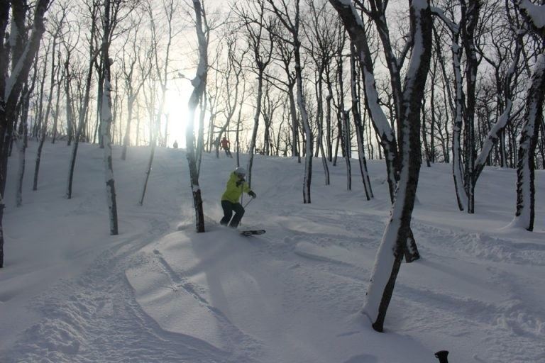 Snowcattin' at Mt. Bohemia will get you into the untracked trees. (Mount Bohemia)