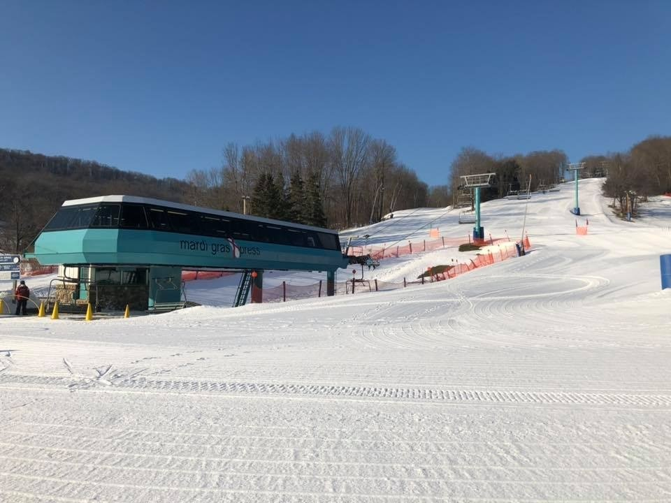 Warm days and fresh corduroy are calling your name. (Holiday Valley/Facebook)