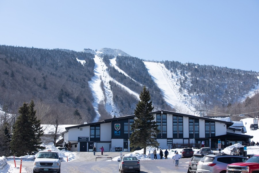 The current K-1 base lodge.(Killington/Chandler Burgess)