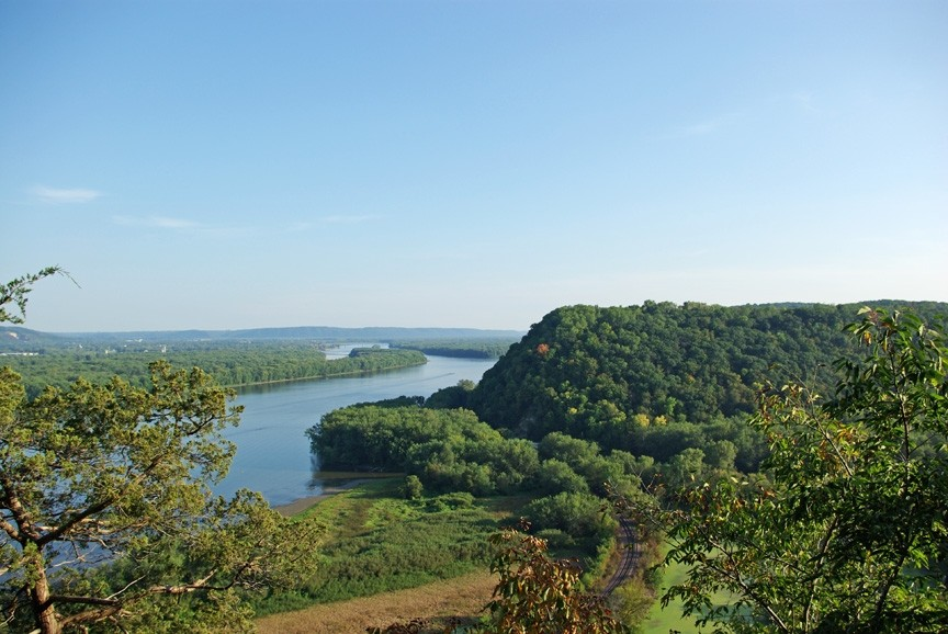 Effigy Mounds National Monument offers stunning views and history that dates back over thousands of years. (Effigy Mounds National Monument)