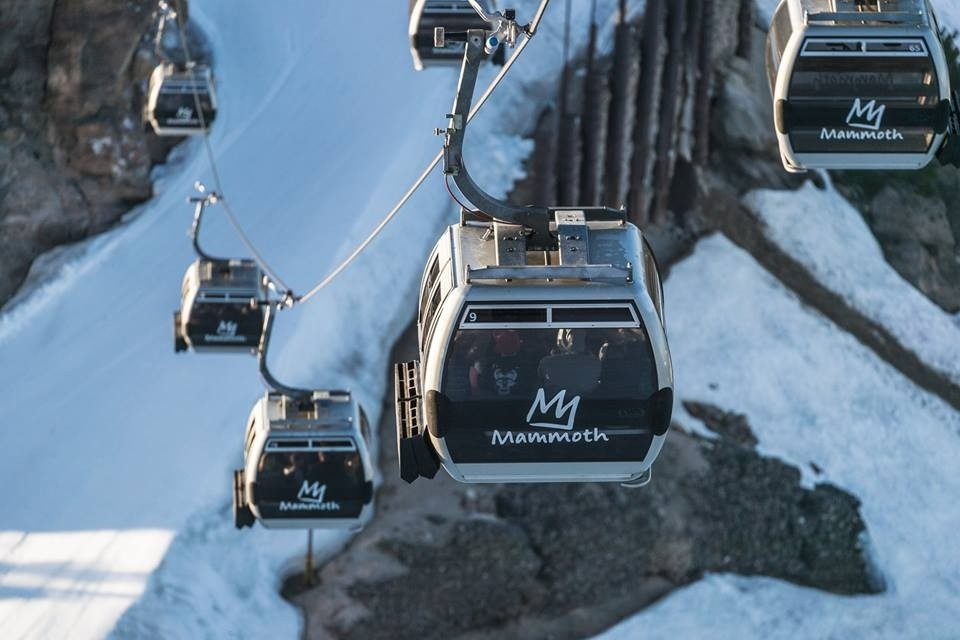 Mammoth continues a long tradition of running the gondola into Memorial Day weekend – a great time to test out those demos you bought at a discount. (Mammoth/Facebook)