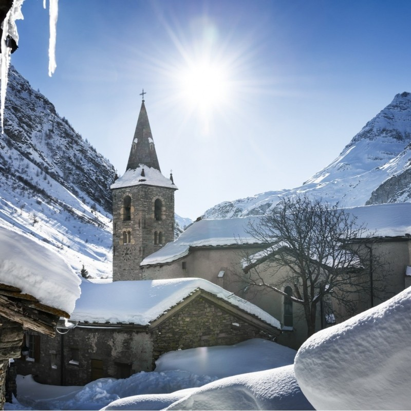 Put skiing the quaint villages of Europe on your bucket list. (Snowpass/Facebook)