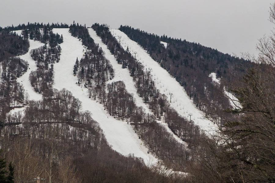 With more than 35 FEET of snow this season, Jay Peak will re-open Stateside May 4 and 5 for one last weekend of skiing and riding. (Jay Peak/Facebook)
