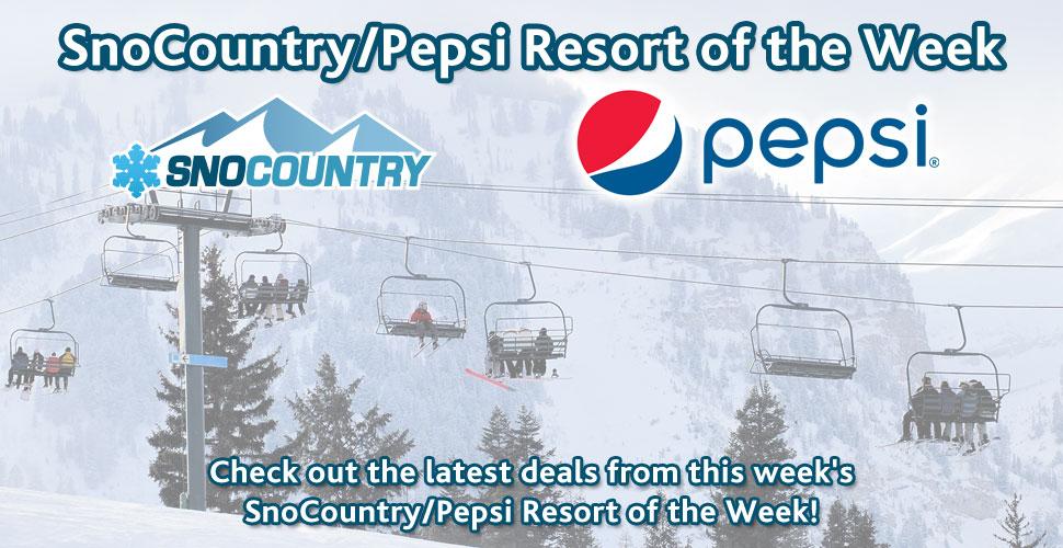 Pepsi Resort of the week