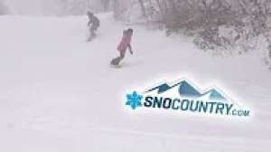 Ski Butternut 2018 - SnoCountry Snapshot with Halley O'Brien